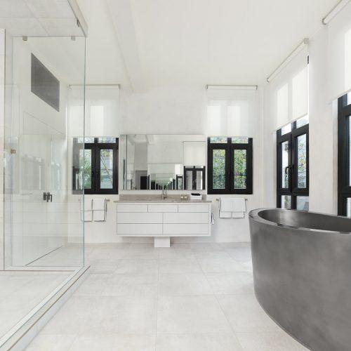 master bathroom windows